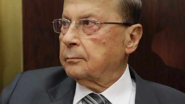 Oud-legerchef Michel Aoun nieuwe president Libanon