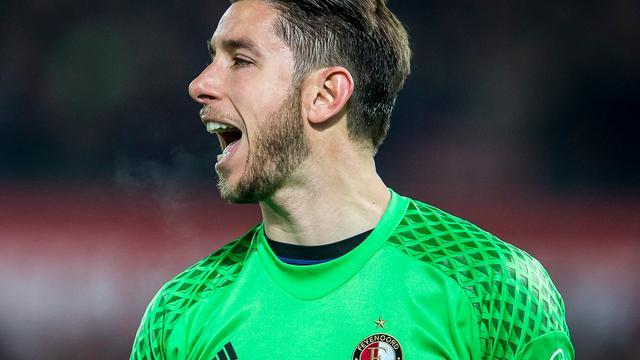 Jones blijft ondanks terugkeer Vermeer eerste keeper Feyenoord