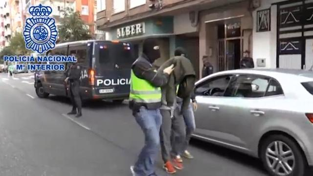 Twee IS-aangehangers gearresteerd in Spanje