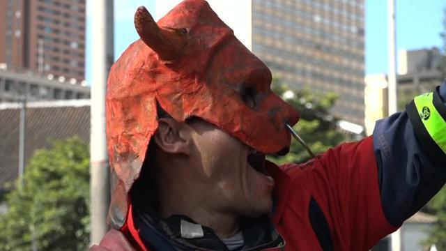 Duizenden Colombianen tegen terugkeer stierenvechten in Bogota