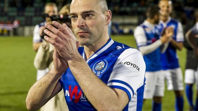 Lurling trots op 'geweldig' afscheid bij FC Den Bosch