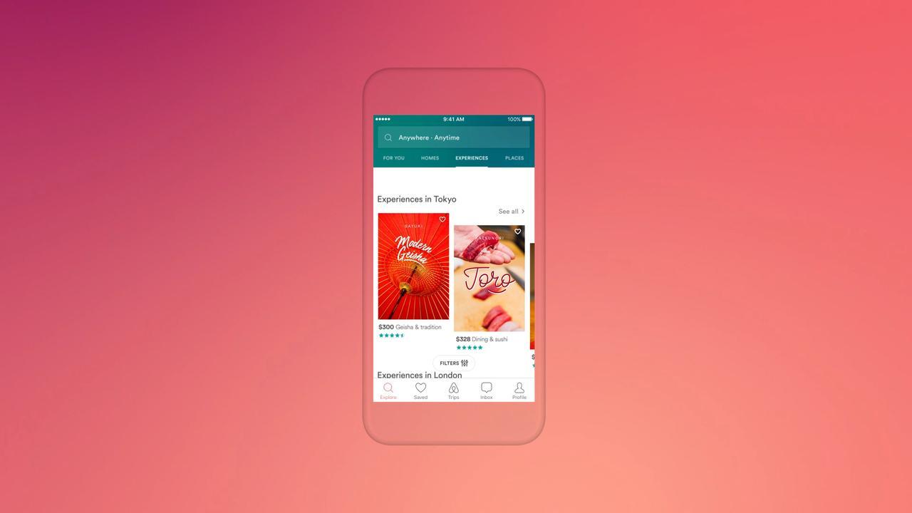 Airbnb biedt ervaringen aan in app