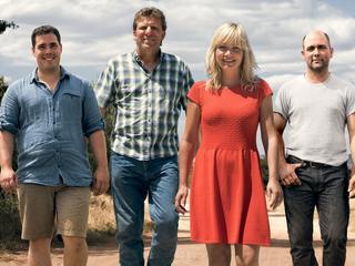 In datingprogramma gingen boeren Marc, Herman, Riks, David en Olke op zoek naar een vrouw