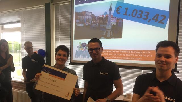 Verenigingen ontvangen geld van Rabo Clubkas Actie