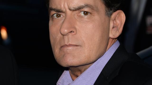 'Contactverbod voor Charlie Sheen'