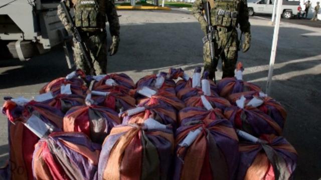 Mexicaanse marine vindt 800 kilo cocaïne op speedboot