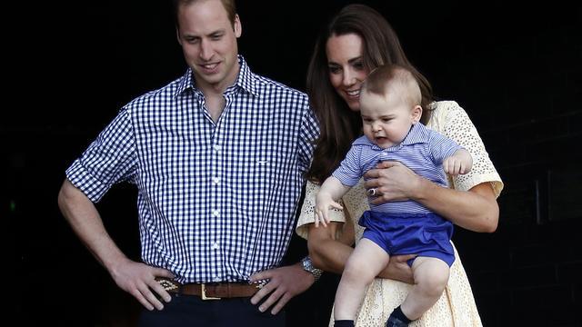Prins William had moeite met vaderschap