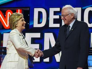 Democraat geeft strijd om nominatie nog niet op