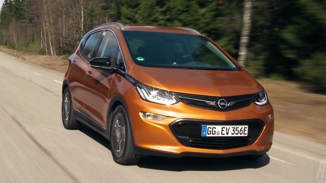 Eerste rij-impressie Opel Ampera-e in Noorwegen