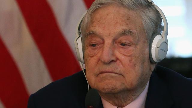 Stokoude superbelegger George Soros zit weer aan de knoppen