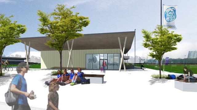 Gemeente staat een derde garant voor bouw nieuw clubhuis Kampong