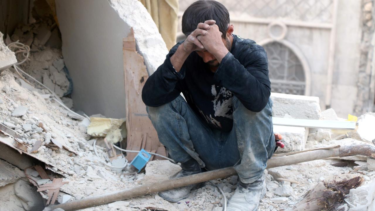 De destructie van Aleppo in beeld
