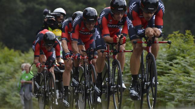 BMC verslaat Etixx-QuickStep en wint ploegentijdrit in Tirreno