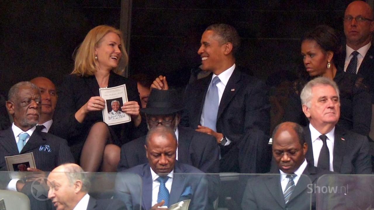 Gênante moment van de dames en heren politici!