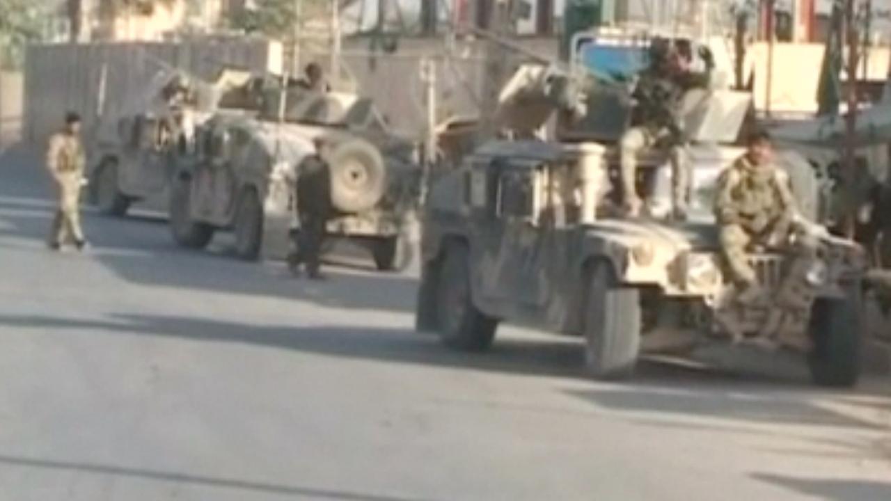 Afghaanse troepen proberen Taliban te verjagen uit Kunduz