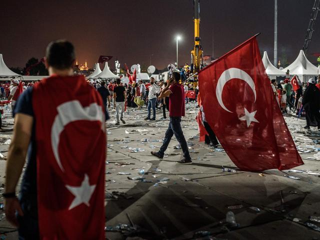 Turkije verlengt noodtoestand met drie maanden