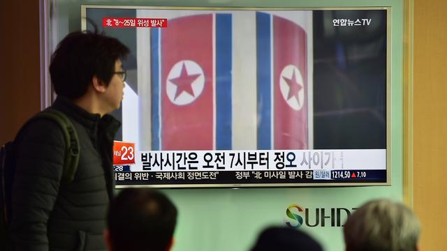 Noord-Korea vuurt korteafstandsraketten af