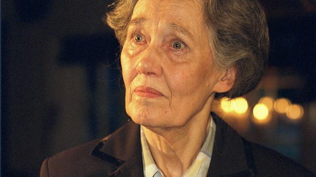 Zangeres Aafje Heynis (91) overleden