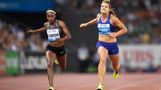 Thompson troeft Schippers af in Zürich, Hassan derde op 1500 meter
