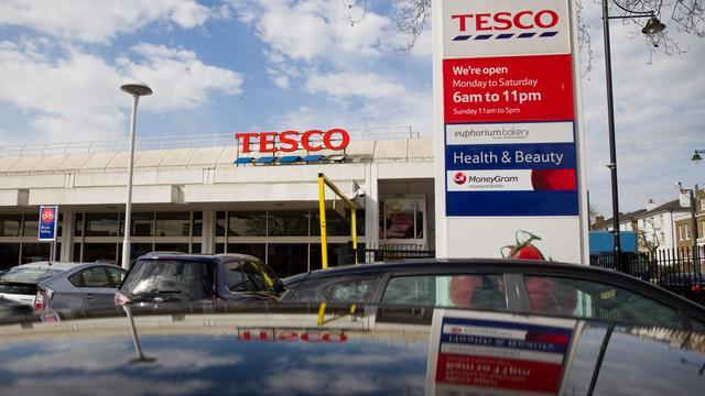 Beleggers eisen 111 miljoen om boekhoudschandaal Tesco
