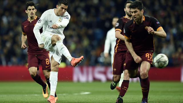 Real Madrid-AS Roma (2-0)
