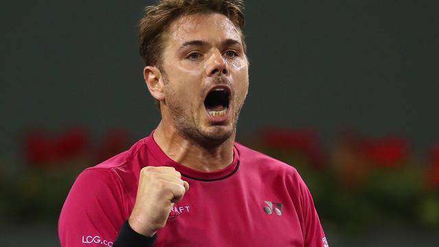 Wawrinka ten koste van Thiem naar halve finales Indian Wells