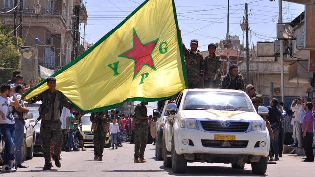 Amerikaanse militairen 'ter afschrikking' in Manbij