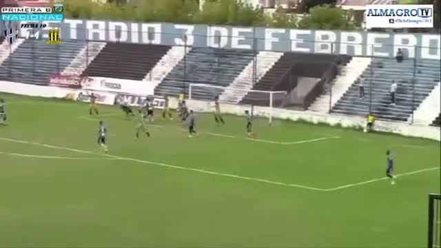 Argentijn treft doel met fabelachtige omhaal