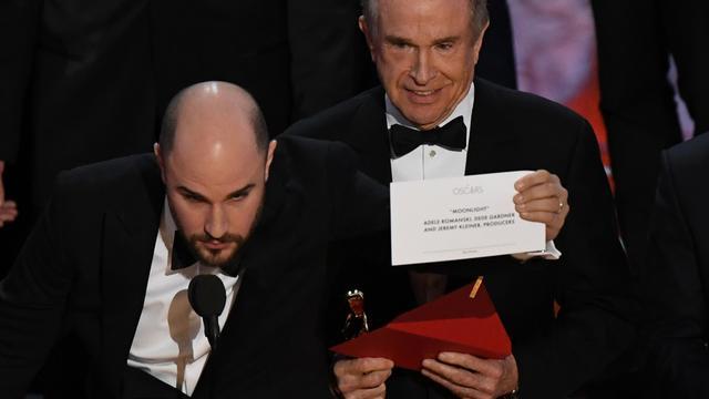 La La Land krijgt ten onrechte Oscar voor beste film