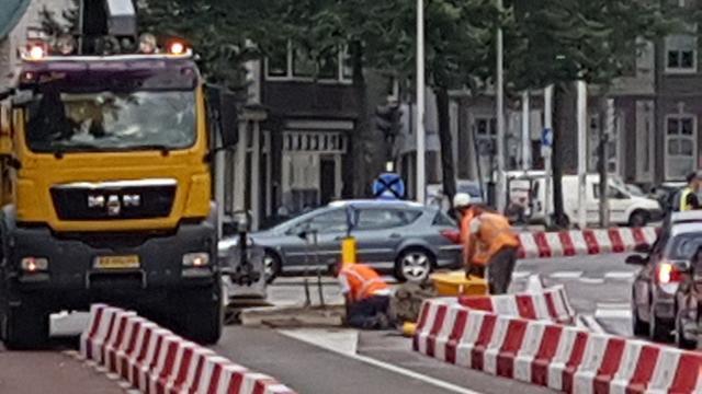 Aanleg Centrumroute begonnen bij Levendaal