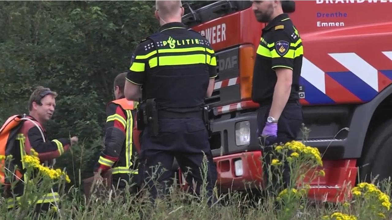 Vier doden bij auto te water in Stieltjeskanaal