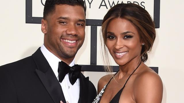 Ciara en Russell Wilson getrouwd in Engeland