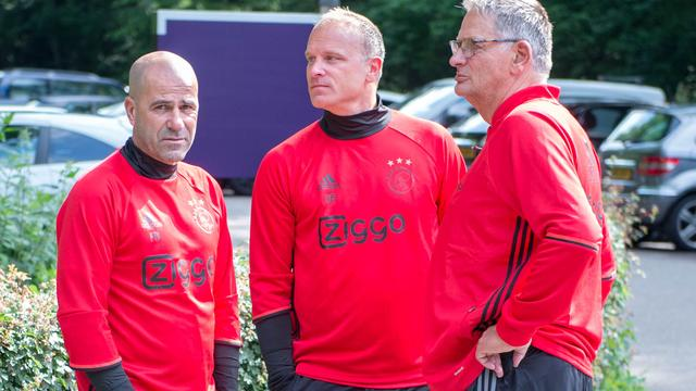 Bergkamp ontkent ruzie bij Ajax met vertrokken Bosz
