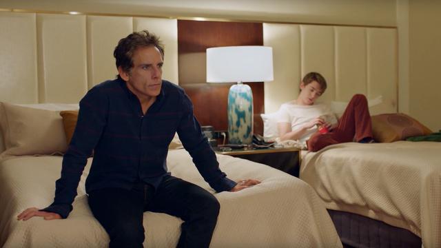 Ben Stiller jaloers op vrienden in eerste trailer Brad's Status