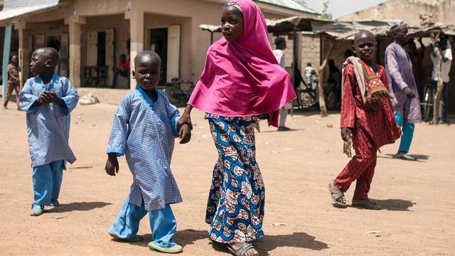 'Miljoen kinderen niet naar school door conflict met Boko Haram in Nigeria'