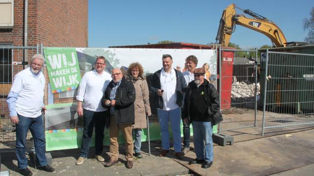Woningsloop aan de Plataanstraat Bergen op Zoom officieel gestart