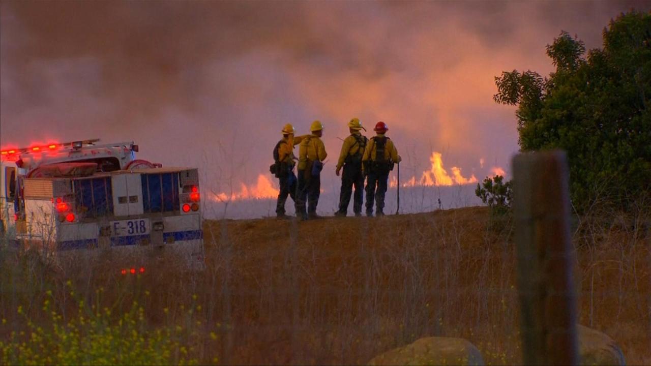Hevige branden teisteren Californië