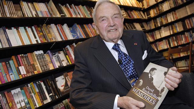 Bankier en filantroop David Rockefeller (101) overleden