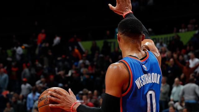 Nieuwe mijlpalen voor Westbrook en James in NBA