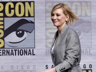 Cate Blanchett noemt rol in Thor 'gelukkig toeval'