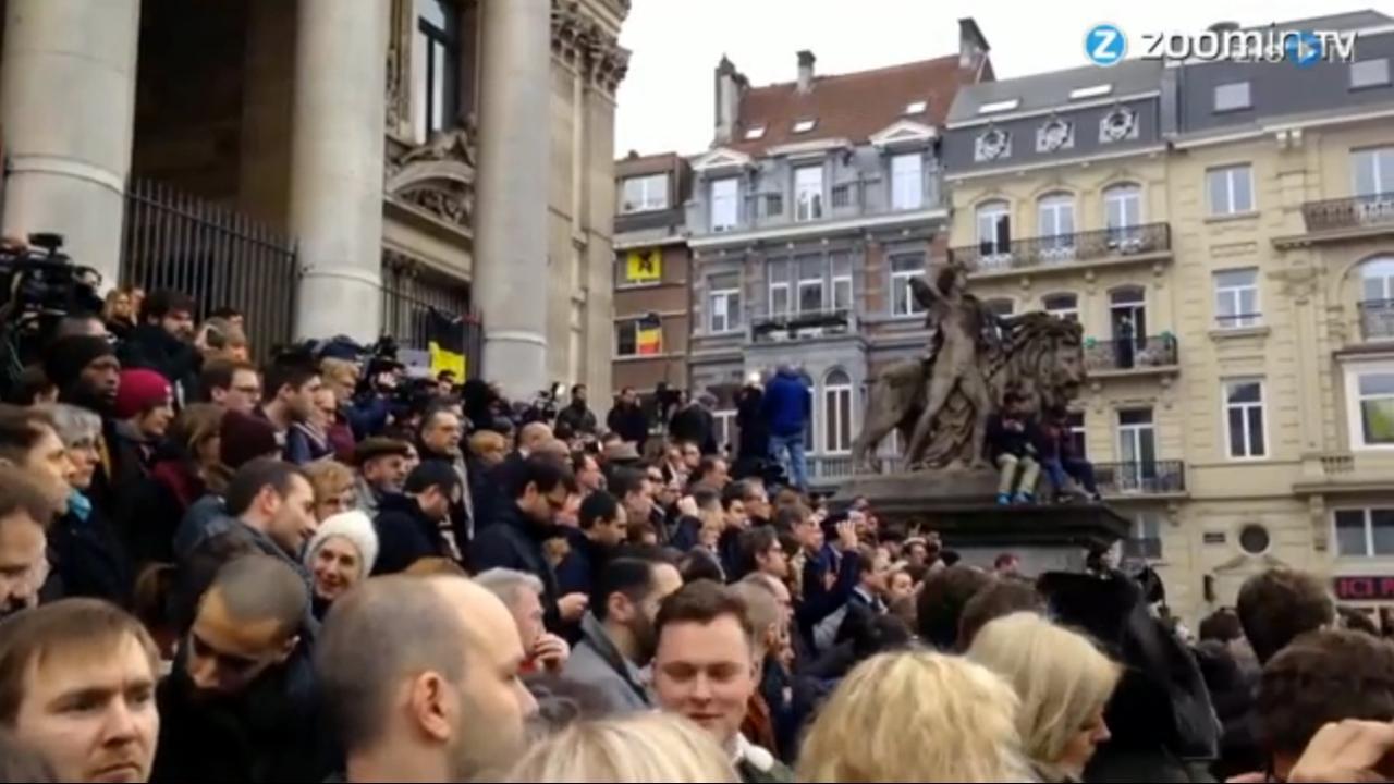 België is één minuut stil