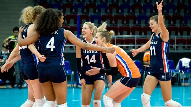 Volleybalsters winnen ook derde duel in WK-kwalificatie