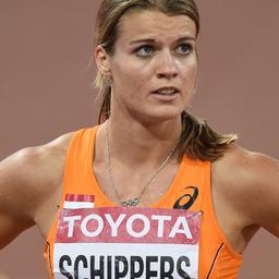 Wereldkampioen Dafne Schippers gaat niet met geld 'smijten'