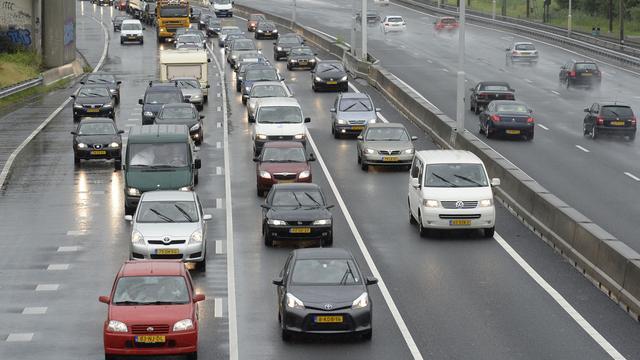 Verkeersdrukte rijksweg A28 in afgelopen vijf jaar gestegen