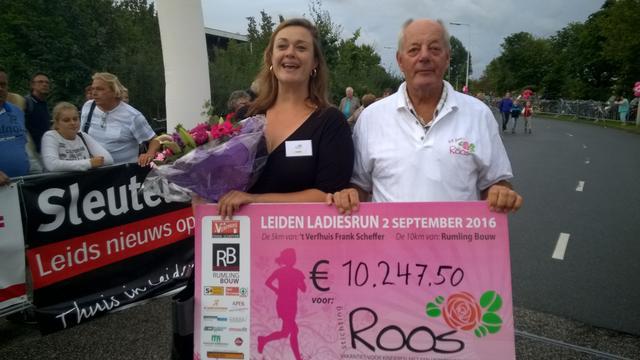 Liselotte van den Berg weer snelste bij Leiden Ladiesrun