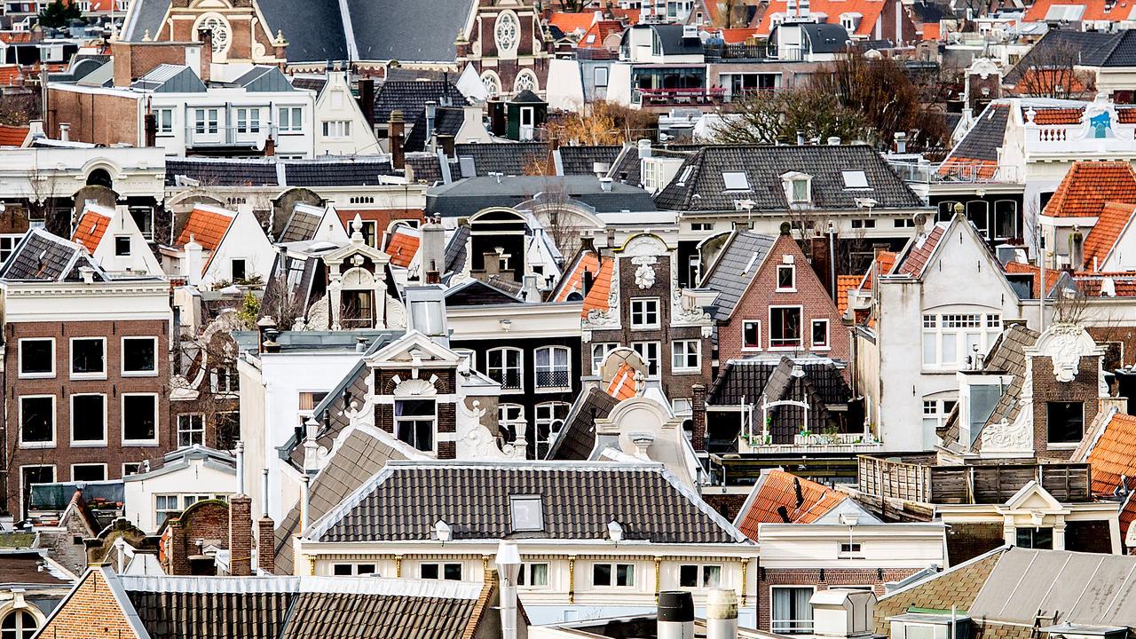 Amsterdamse daken moeten groener