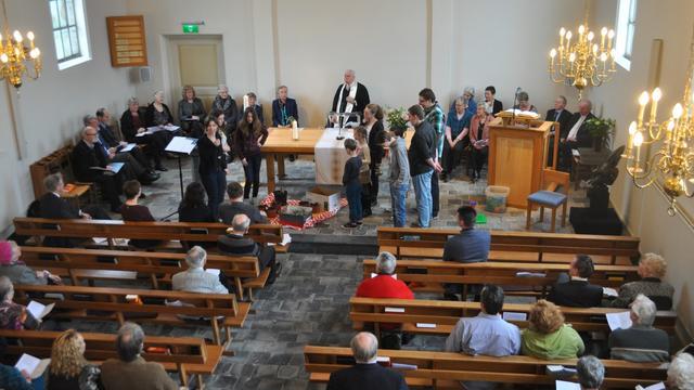 Nederland vs. België bij protestantse kerk