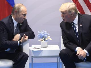 Trump sprak over samenwerking met Poetin