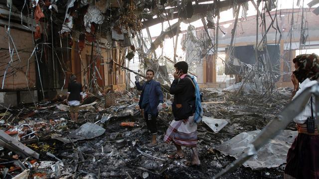 Kerry uit zorgen over luchtaanval Jemen aan Saudi-Arabië