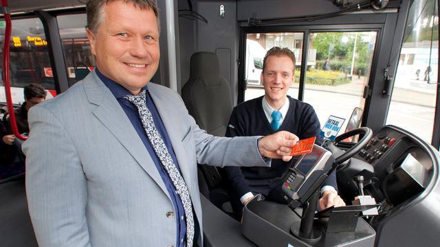 Contactloos en met pin betalen in Bredase bussen